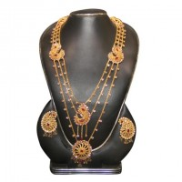 Mixed Silver Gold Plated Lohor Har-02