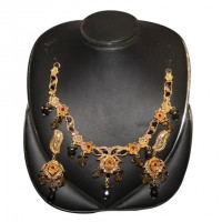 Mixed Silver Gold Plated Necklace Set-02