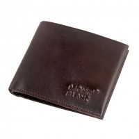 Mont Blanc Chocolate Men's Leather Wallet 1985