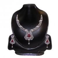 Diamond Cut Nacklace Set-003