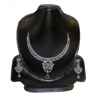 Diamond Cut Nacklace Set-004