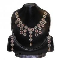 Diamond Cut Necklace Set-005