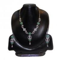 Diamond Cut Necklace Set-006