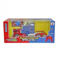 Optimus Prime Transformation Truck Toy Remote Control