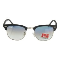 Ray-Ban Club Master RB 3016 Polarized Black-Blue Replica Sunglasses