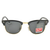 Ray-Ban Club Master  RB 3016 Polarized Black Replica Sunglasses