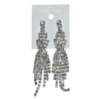 Stylish Crystal Clear Color Stone Earring ER35