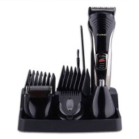 Kemei KM 590A 7in1 Multifunctional Premium Mens Grooming Kit