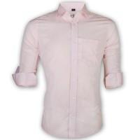 LAVELUX Premium Slim Solid Cotton Casual Shirt LMS152