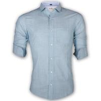 LAVELUX Premium Slim Solid Cotton Casual Shirt LMS155