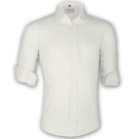 LAVELUX Premium Slim Solid Cotton Casual Shirt LMS160