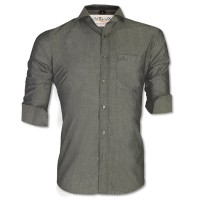 LAVELUX Premium Slim Solid Cotton Formal Shirt LMS419