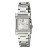 CASIO Enticer Analog White Dial Women's Watch LTP-1237D-7ADF