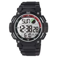 Q&Q M119J004Y Standard Dual Time Digital White Dial Men's Watch