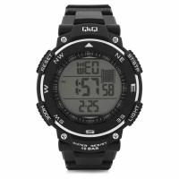 Q&Q M124J002Y Digital White Dial Men's Watch