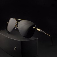 Luxury Mercedes-Benz Sunglass - M743G Golden Replica Edition