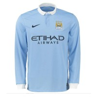 Manchester City Home Full Sleeve Jersey 2015-16