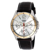 Casio White Dial Watch MTP 1374L 7AVDF