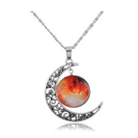 Moon Shape Locket