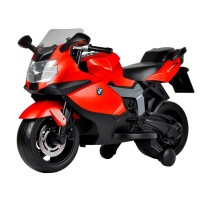 Kids Ride On Electric Motor Bike BMW Red EMB01