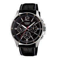 Casio Black Dial Multi-Function Watch MTP 1374L 1AVDF