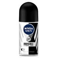 Nivea Men's Invisible Black & White Roll On Deodorant 50ML