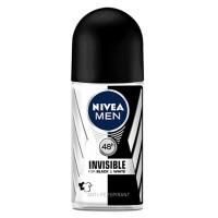 Nivea Men's Invisible Black & White Roll On Deodorant 50ML