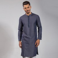 OBTAIN Premium Slim Fit Festive Collection Panjabi OL2713
