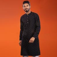 OBTAIN Premium Slim Fit Festive Collection Panjabi OL2708