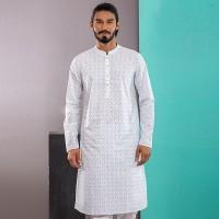 OBTAIN Premium Slim Fit Festive Collection Panjabi OL2712