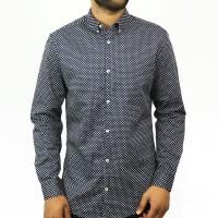 OBTAIN Premium Slim Fit Printed Casual Shirt OL721