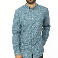OBTAIN Premium Slim Fit Printed Casual Shirt OL739