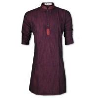 Exclusive Eid Special Maroon Embroidery Panjabi JP113