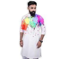 PRODHAN Exclusive Festive Collection Color Splash Panjabi PB393