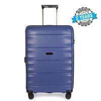 PRESIDENT 24 inch Hard case travel luggage  on 4-Wheels Suitcase Blue PBL730