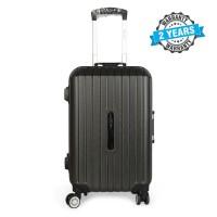 PRESIDENT 20 inch Hard Case Travel Luggage On 4-Wheels Suitcase DARK GREY PBL734