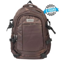 President Waterproof Bag For Laptop Backpack COFFEE PBL789