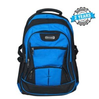 President Travel Bag Fashionable Backpack  Nylon BLUE & BLACK  PBL797