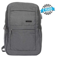 President Waterproof Unisex  Backpack  Nylon Grey PBL800