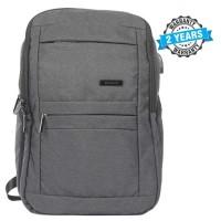 President Waterproof Unisex  Backpack  Nylon Grey PBL800