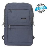 President Waterproof Unisex  Backpack  Nylon Blue PBL802