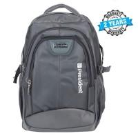 President  Fashionable Waterproof  Backpack  Nylon Grey PBL804