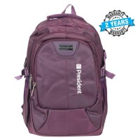 President Fashionable Waterproof Backpack Nylon Purple  PBL809