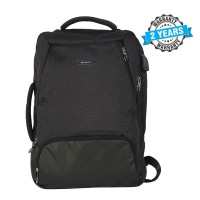 President Waterproof  Fashionable Backpack Nylon Black  PBL810