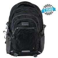President Waterproof  Fashionable Backpack Nylon Black  PBL907