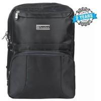 President Waterproof  Laptop Backpack / School Bag Nylon Black  PBL911