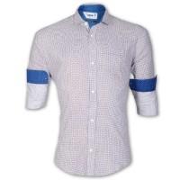 DEVIL Pure Cotton Ball Printed Casual Shirt DE136