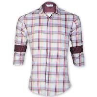 DEVIL Pure Cotton Casual Check Shirt  DE132