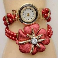 Flower Pearls Ladies Watch
