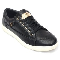 Stylish Men's Faux Leather Converse FFS207